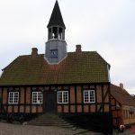 Den gamle rådhus i Ebeltoft.